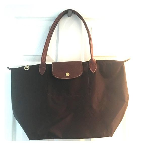 d0cdaf5e1 Longchamp Handbags - Large Longchamp Brown bag
